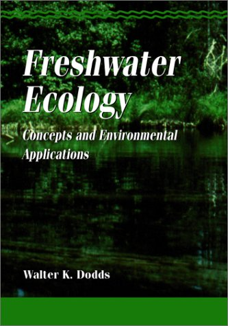 Freshwater Ecology Concepts and Environmental Applications  2001 edition cover