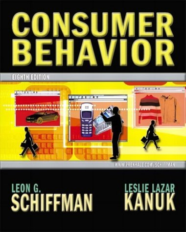 Consumer Behavior  8th 2004 9780130673350 Front Cover