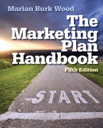 Marketing Plan Handbook  5th 2014 edition cover