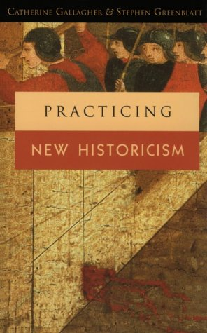 Practicing New Historicism   2001 edition cover