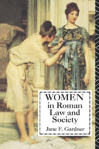 Women in Roman Law and Society  N/A edition cover