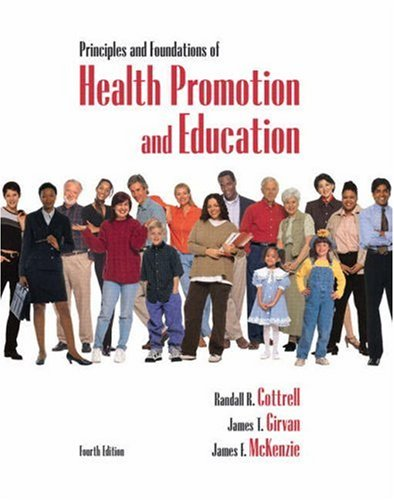 Principles and Foundations of Health Promotion and Education  4th 2009 edition cover