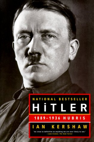 Hitler 1889-1936 Hubris  2000 edition cover