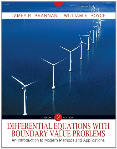 Differential Equations with Boundary Value Problems An Introduction to Modern Methods and Applications 2nd 2011 edition cover