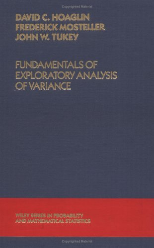 Fundamentals of Exploratory Analysis of Variance   1991 edition cover