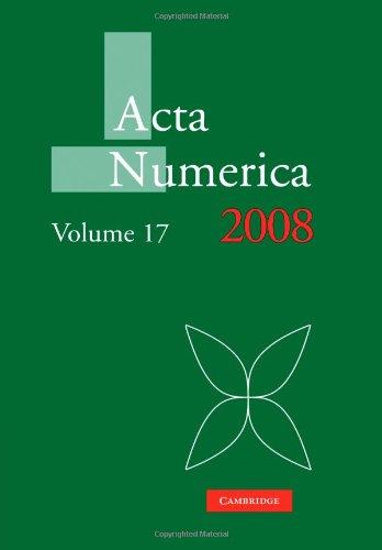 Acta Numerica 2008: Volume 17   2010 9780521174350 Front Cover