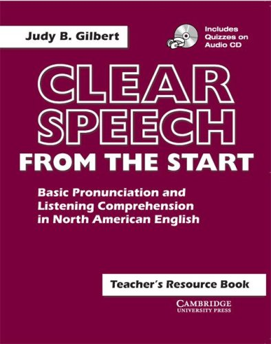 Clear Speech from the Start Basic Pronunciation and Listening Comprehension in North American English  2001 edition cover