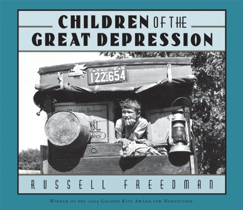 Children of the Great Depression   2005 9780547480350 Front Cover