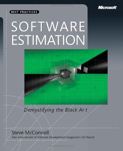 Software Estimation Demystifying the Black Art  2006 (Revised) edition cover