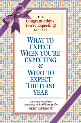 You're Expecting Gift Set What to Expect When You're Expecting 4th Ed,& What to Expect the First Year 4th (Revised) 9780761150350 Front Cover