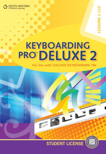 Keyboarding Pro Deluxe  2nd 2011 9780840053350 Front Cover