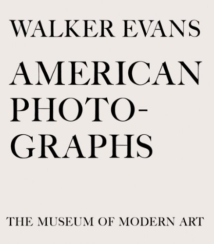 Walker Evans: American Photographs Seventy-Fifth Anniversary Edition  2012 edition cover