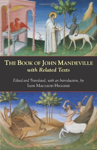 Book of John Mandeville With Related Texts  2011 edition cover