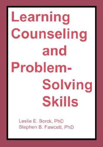 Learning Counseling and Problem-Solving Skills   1982 edition cover