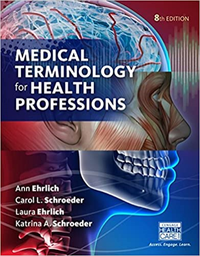Medical Terminology for Health Professions:   2016 9781305634350 Front Cover