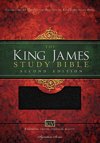 King James Study Bible   2013 (Large Type) 9781401680350 Front Cover