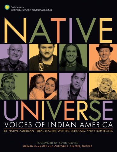 Native Universe Voices of Indian America  2008 edition cover