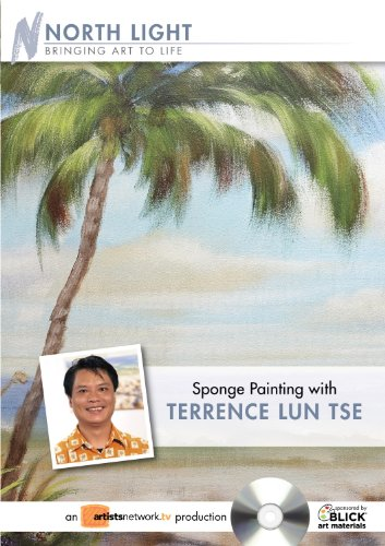 Sponge Painting With Terrence Lun Tse:  2009 edition cover
