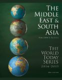 Middle East and South Asia 2014  48th edition cover