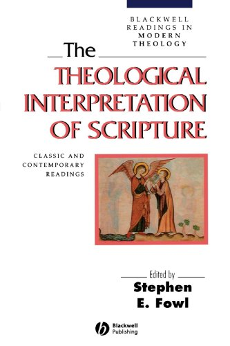 Theological Interpretation of Scripture Classic and Contemporary Readings  1997 edition cover