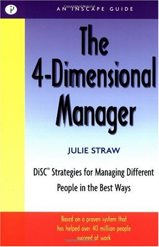 4-Dimensional Manager Disc Strategies for Managing Different People in the Best Ways  2002 edition cover