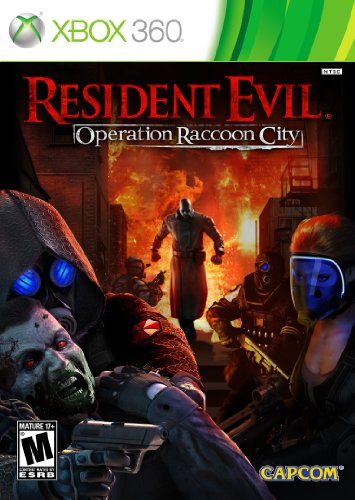 Resident Evil: Operation Raccoon City - Xbox 360 Xbox 360 artwork