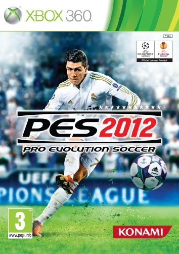 Xbox 360 Pro Evolution Soccer (PES) 2012 PAL Xbox 360 artwork