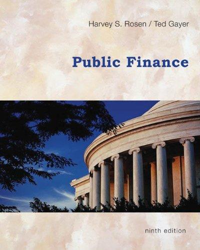 Public Finance  9th 2010 edition cover