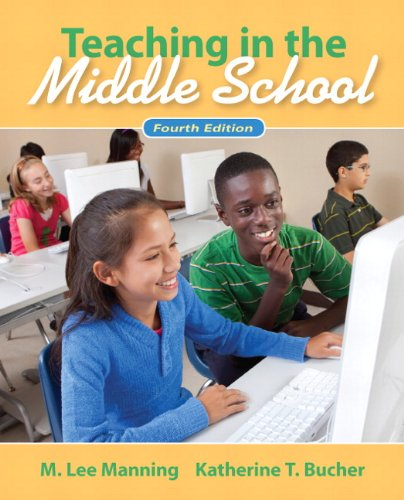 Teaching in the Middle School  4th 2012 edition cover
