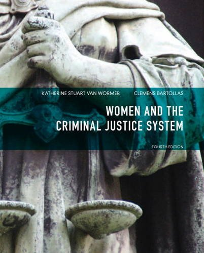 Women and the Criminal Justice System  4th 2014 9780133141351 Front Cover