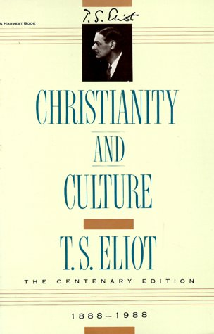 Christianity and Culture   1960 edition cover