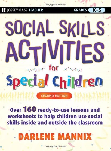 Social Skills Activities for Special Children  2nd 2009 edition cover