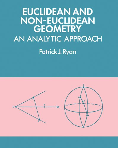 Euclidean and Non-Euclidean Geometry An Analytic Approach  1986 9780521276351 Front Cover
