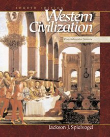 Western Civilization  4th 2000 9780534568351 Front Cover