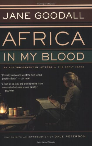 Africa in My Blood An Autobiography in Letters: the Early Years  2001 edition cover