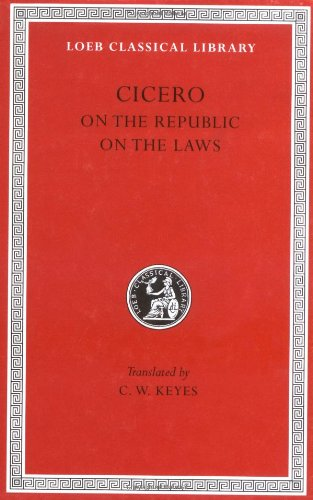 On the Republic. on the Laws   1928 edition cover