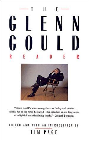 Glenn Gould Reader  N/A edition cover