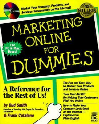 Marketing Online for Dummies   1998 9780764503351 Front Cover