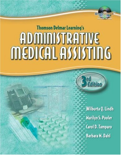 Administrative Medical Assisting  3rd 2006 (Revised) 9781401881351 Front Cover