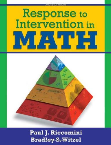 Response to Intervention in Math   2010 edition cover