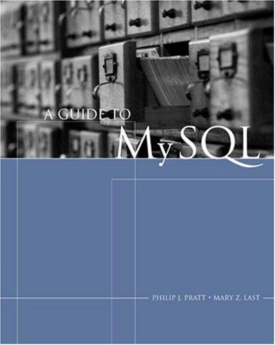 Guide to MySQL   2006 edition cover