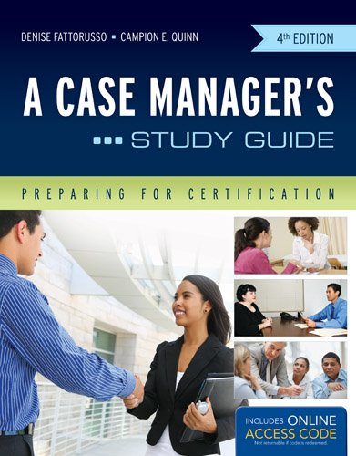 Case Manager's Study Guide  4th 2013 9781449683351 Front Cover