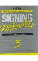 Signing Naturally Level 3 (Vista American Sign Languagel)  2003 edition cover
