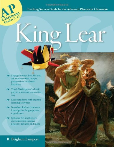 Advanced Placement Classroom: King Lear   2011 9781593638351 Front Cover