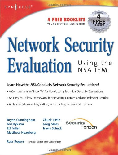 Network Security Evaluation Using the NSA IEM  N/A edition cover