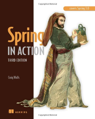 Spring in Action  3rd 2010 (Revised) edition cover