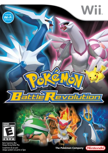 Pokemon Battle Revolution Nintendo Wii artwork