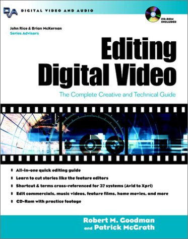 Editing Digital Video The Complete Creative and Technical Guide  2003 edition cover
