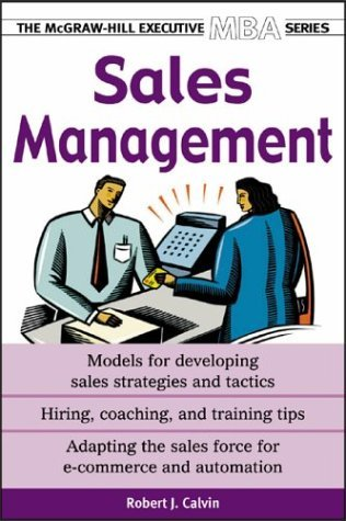 Sales Management  2nd 2004 (Revised) edition cover