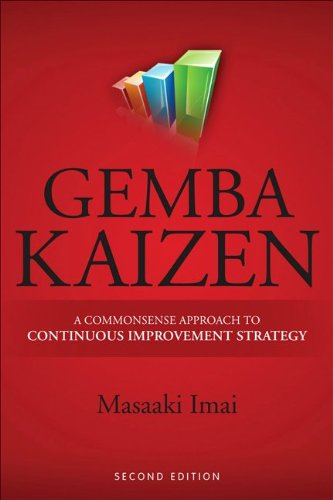 Gemba Kaizen A Commonsense Approach to a Continuous Improvement Strategy 2nd 2012 edition cover